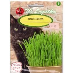 Žolė Katėms