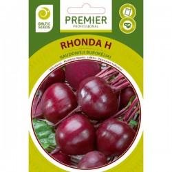 RHONDA H, raudonieji...